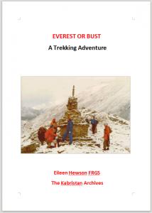 Everest or Bust, A Trekking Adventure
